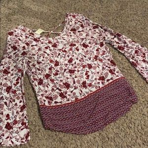 Small Faded Glory Blouse